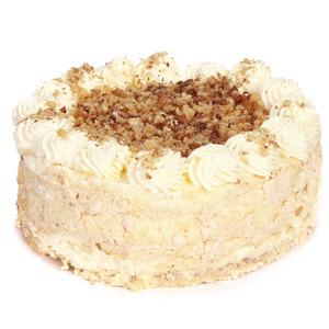 Valriekstu bezē torte