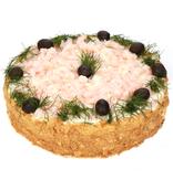 Garneļu torte